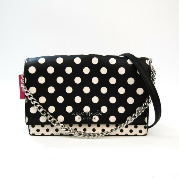 Auth Kate Spade Cameron Picture Dot Convertible Cross body Bag